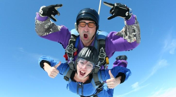 skydiving sport