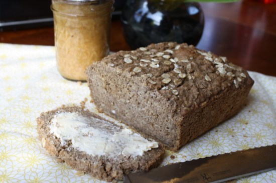 Sweet Brown Oatmeal Bread - Gluten Free & Vegan