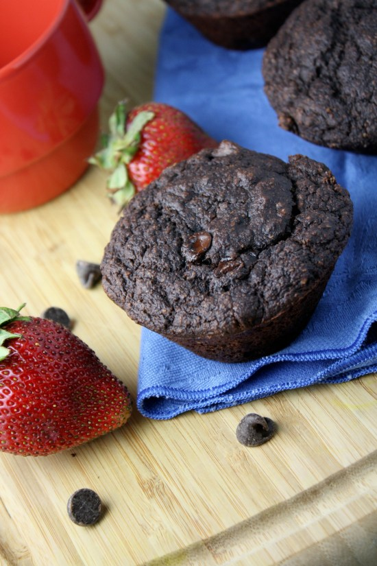 Double Chocolate Muffins/Cupcakes - Gluen Free & Vegan