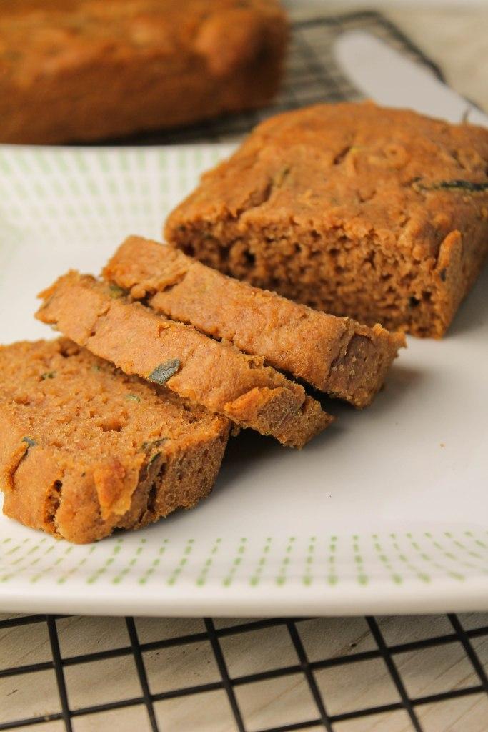 Zucchini Bread - Gluten Free   Vegan