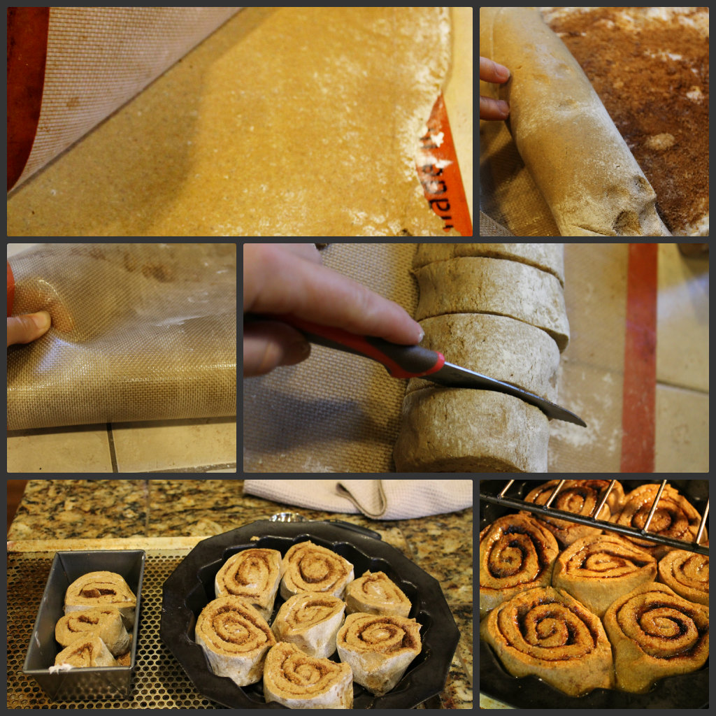 Gluten Free - Vegan Pumpkin Cinnamon Rolls