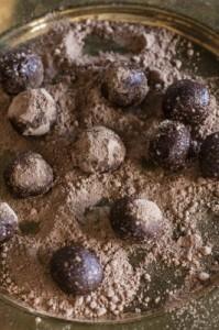 Vegan Truffle Balls w/ Paleo Option