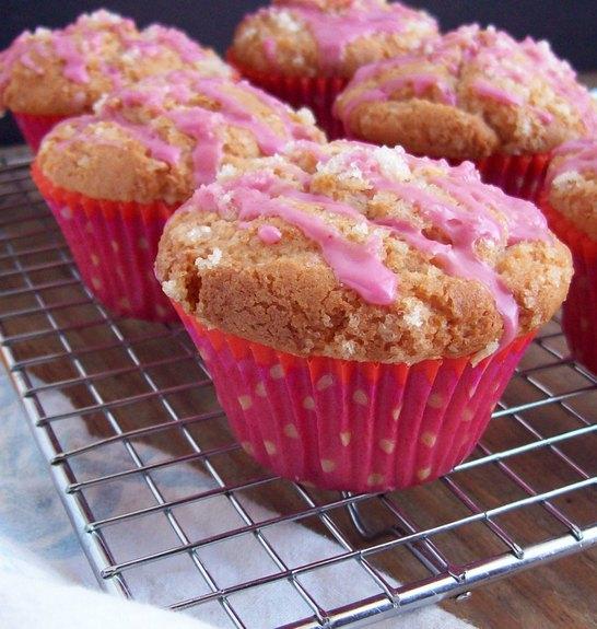 gluten-free-starter-muffins-with-pink-glaze-Free-Range-Cookies