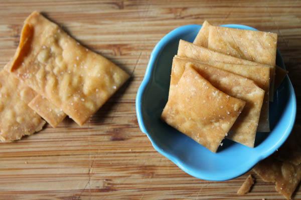 Brown Rice ' Wheat' Thins - GLuten Free & Vegan-6900