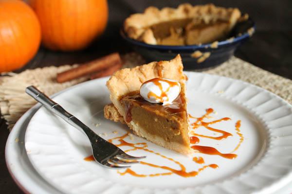 Paleo Pumpkin Pie-6929