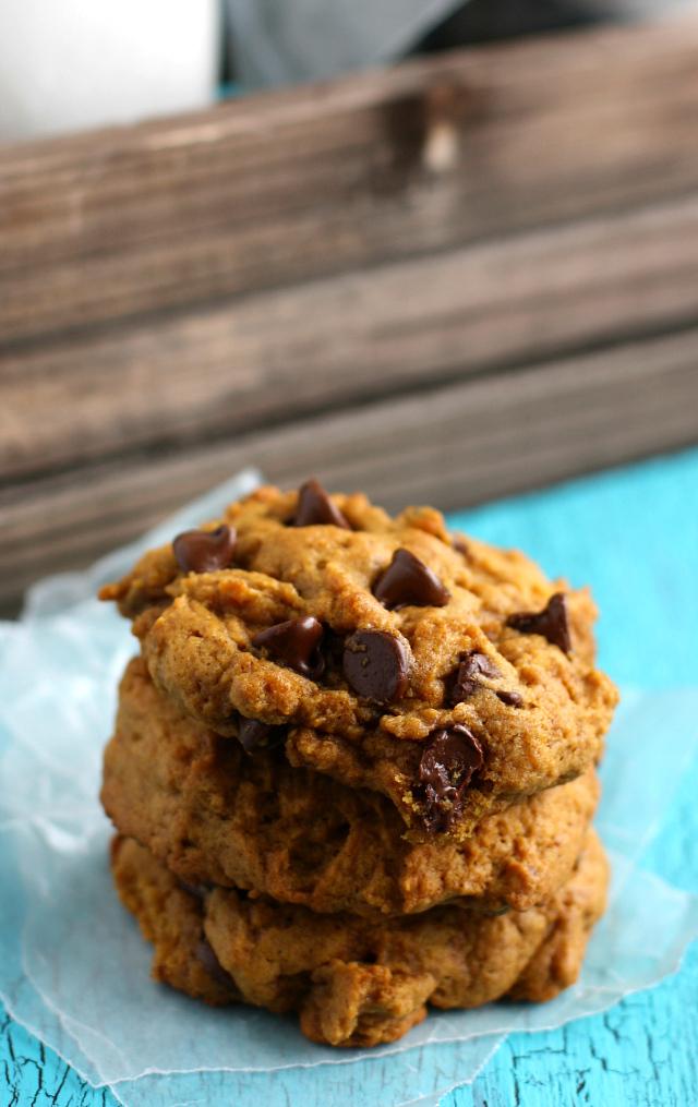 Best Gluten Free Vegan Pumpkin Chocolate Chip Cookie