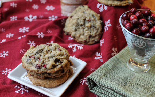 Gluten Free Cranberry Chocolate Cookies-8542