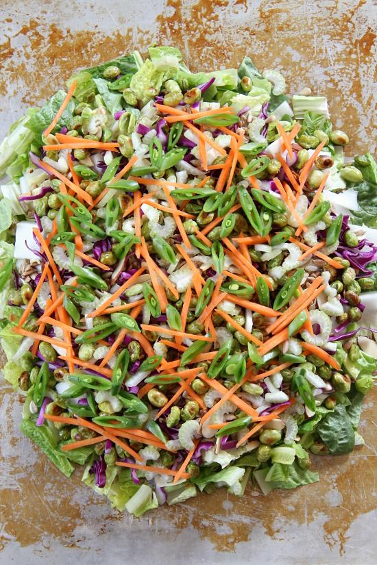 Sesame Ginger Salad - Gluten Free