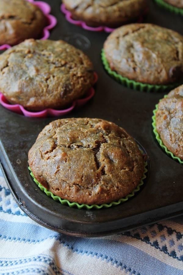 Paleo 'Elvis- Muffins, Nut Free-9169