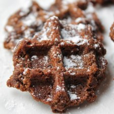 "Waffle Iron Cookie aka 'Boot Tracks""  – Paleo |  Vegan"