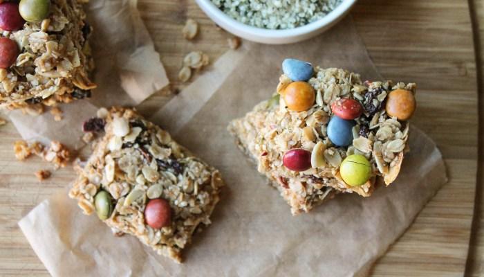Hemp Granola Bars – Gluten Free & Vegan
