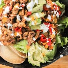Paleo Fajitas – Keto   Whole30   Gluten Free