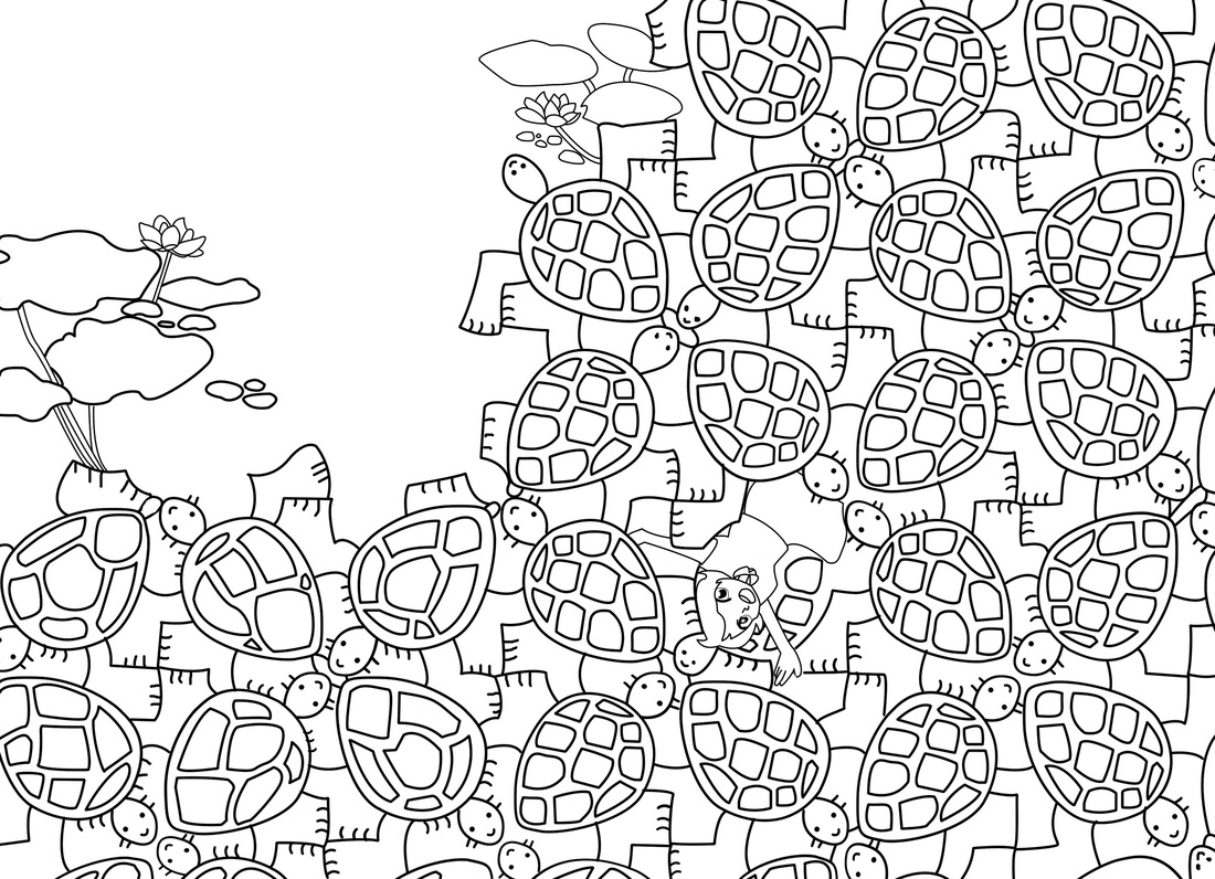 Tessalation Coloring Pages