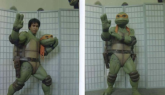Shishir played the part of Michaelangelo in the hit series Teenage Mutant Ninja Turtles