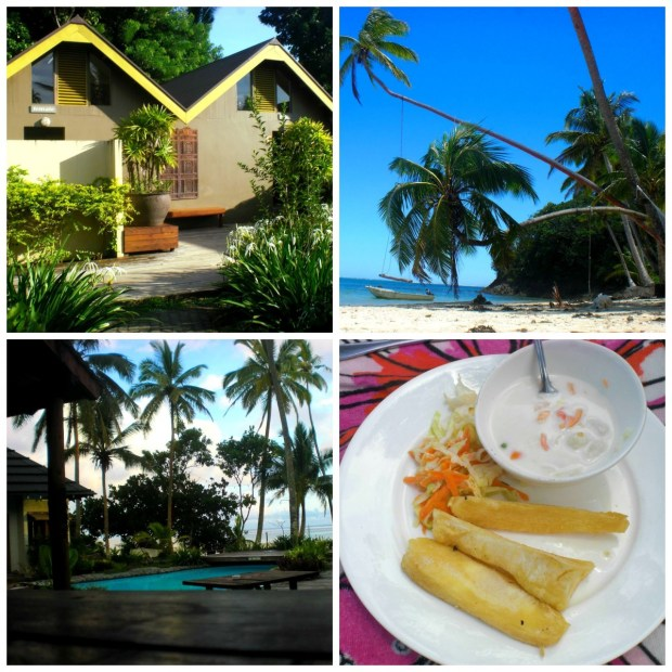 collage fiji beachhouse