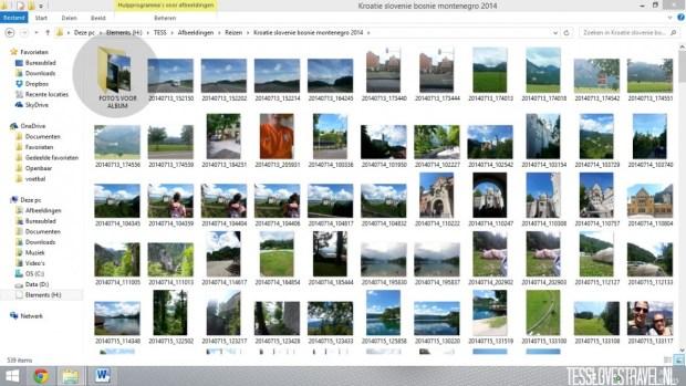 foto selecteren