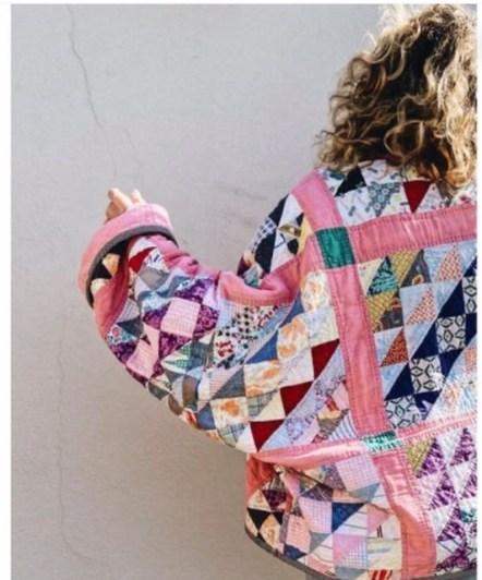 veste matelassée patchwork