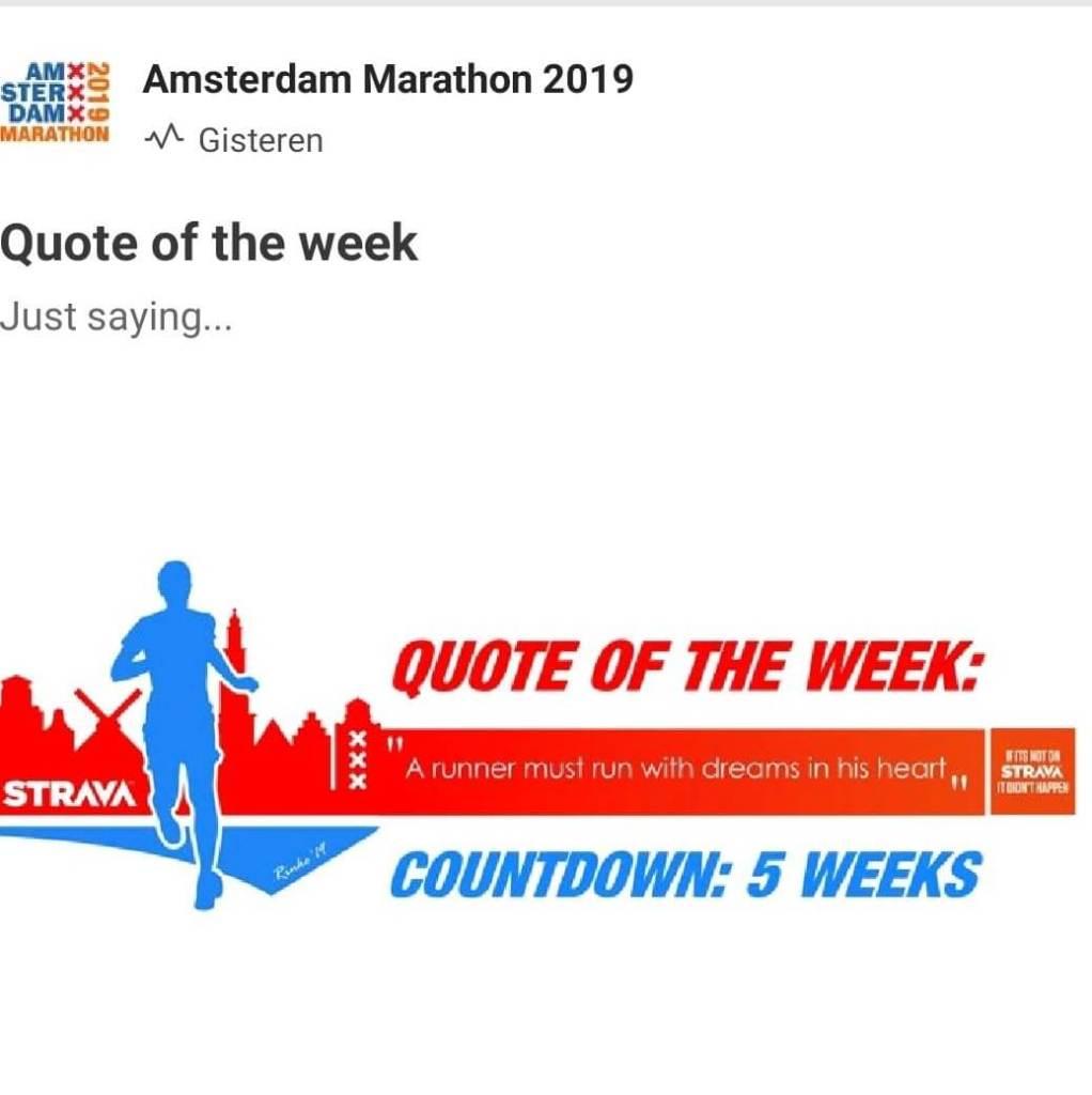 TCS Amsterdam Marathon 2019