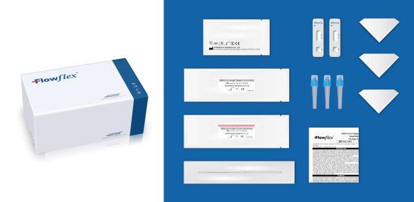 Test diagnostic antigénique rapide covid-19 Acon