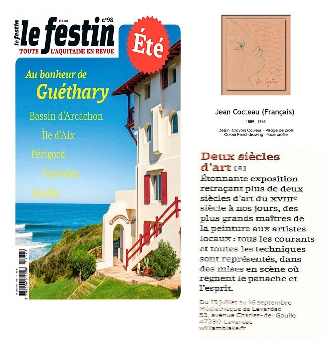 festin ete 2016 2 siecles d'art