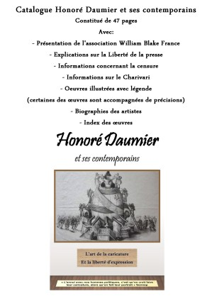 "Catalogue ""Honoré Daumier & ses contemporains"""