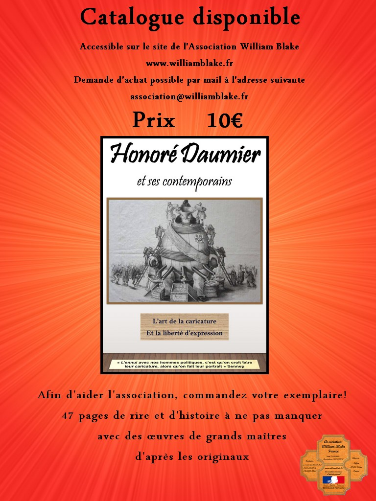 Commander Le Catalogue Honore Daumier Sur Ce Site