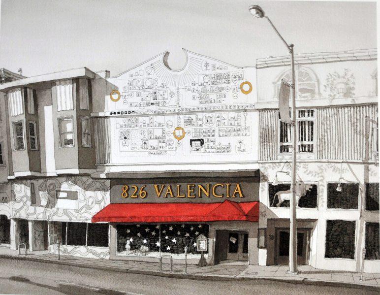 San Francisco- 826 Valencia