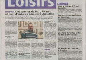 Des oeuvres de Dali, Picasso et bien d'autres à admirer à Aiguillon