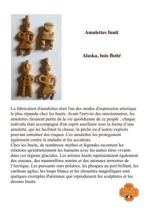 Amulettes Inuit