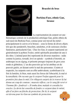 Bracelet de bras Gan