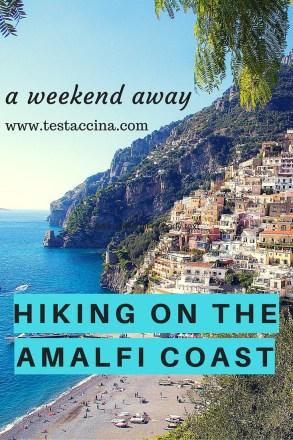 Hiking on the Amalfi Coast: How to hike from Ravello to Amalfi, walk from Ravello to Minori, or hike from Scala to Amalfi. Information for hiking around Ravello on the Amalfi Coast, with walking directions