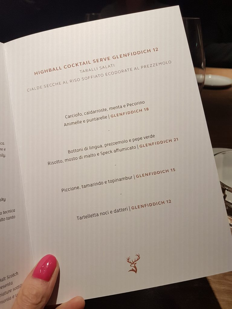 Glenfiddich's Maverick dinner was a journey through ancient artefacts and exceptional ingredients, in partnership with top Rome restaurant Retrobottega