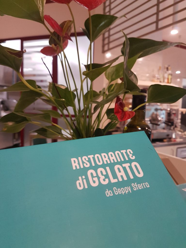 The world's first gelato restaurant, the Gelato Bistro of Gelato d'Essai, has launched in Rome, serving sweet ice-cream with savoury food in a novel twist.