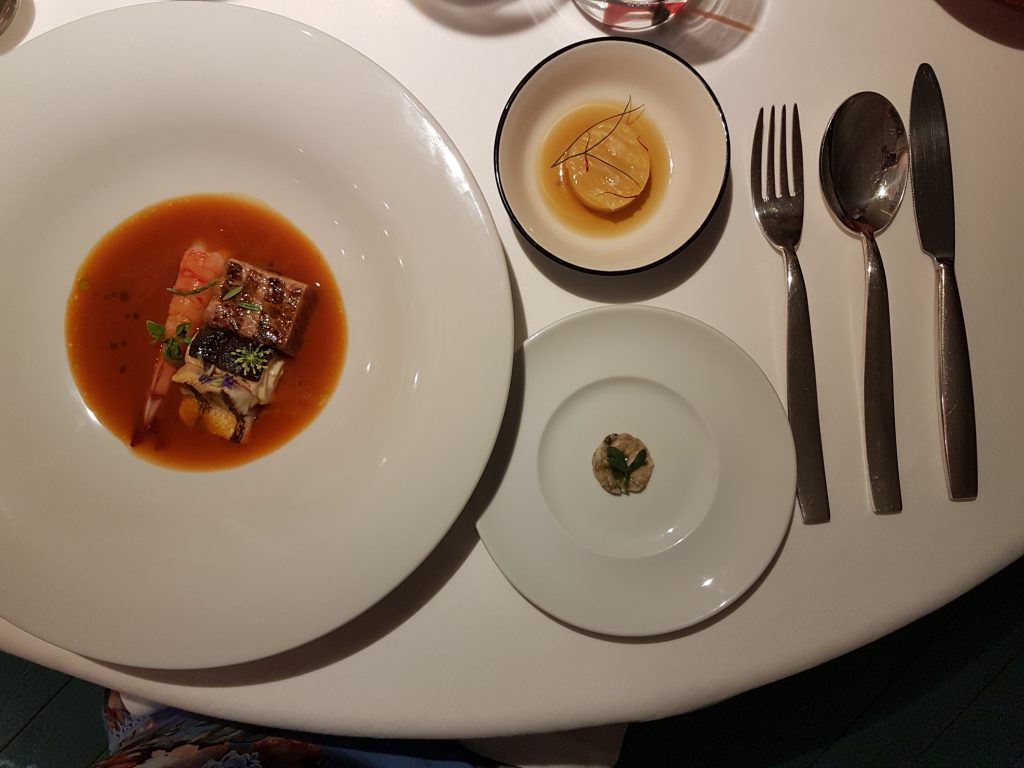 Best Michelin-star restaurants in Rome: Il Tino restaurant, Fiumicino