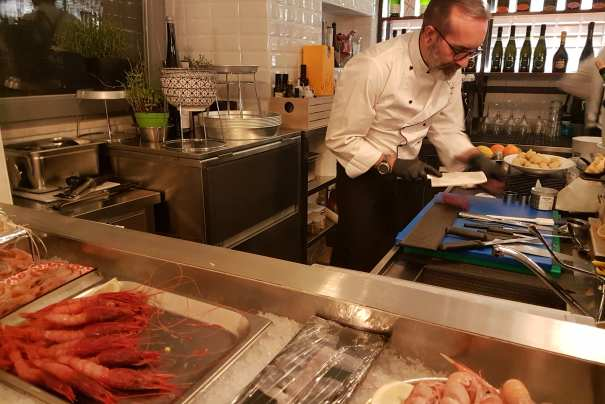 Be enchanted by Banchina 63, new fish restaurant in Rome