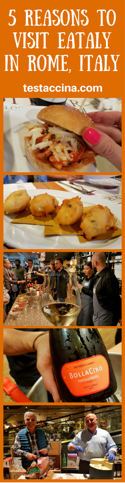Five reasons to visit Eataly in Rome Ostiense, the iconic store serving excellent food, supplying stand-out Italian produce and organising food festivals.