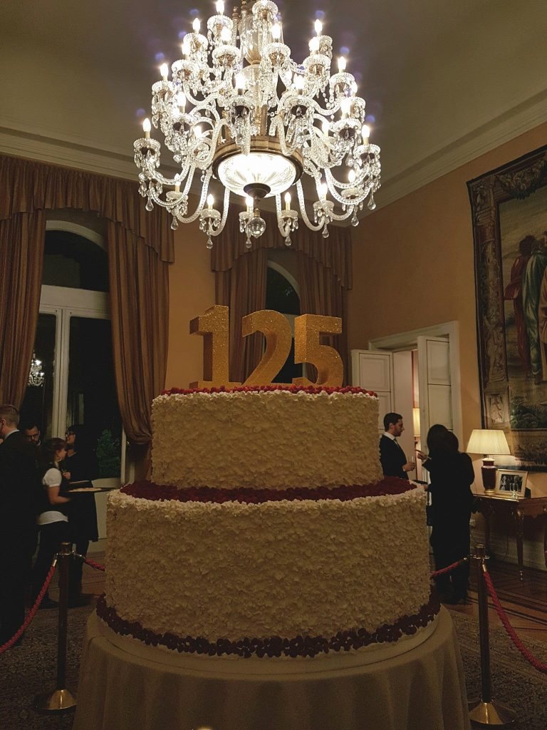 The British Ambassador to Italy's private residence, Villa Wolkonsky, hosted an unforgettable reception on January 24th 2017 to mark the 125th anniversary of Babingtons Tea Rooms in Rome.
