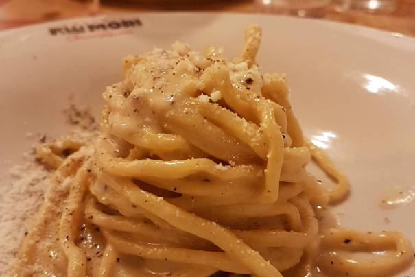 Rome restaurants: cult Osteria Fratelli Mori, in Roma Ostiense