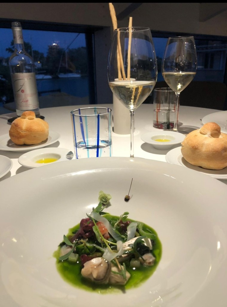 Best Michelin-star restaurants in Rome: Il Tino restaurant, Fiumicino