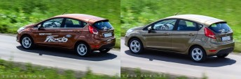 Ford Fiesta Ecoboost VS Duratec 42