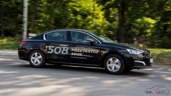 2015 Peugeot 508 1.6 THP 156 KM fot. Piotr Majka