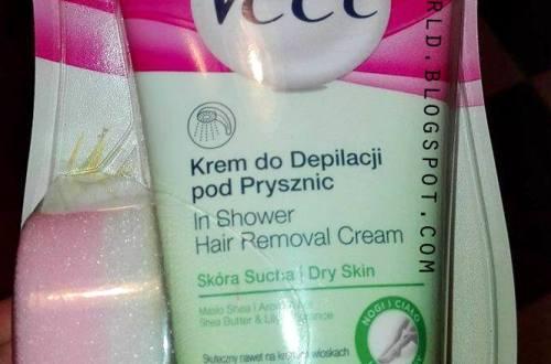 Veet krem do depilacji pod prysznic