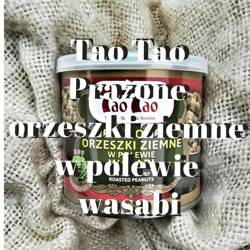 Tao Tao Prażone orzeszki ziemne w polewie wasabi