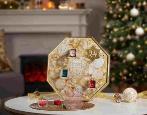 Kalendarz adwentowy świeczki