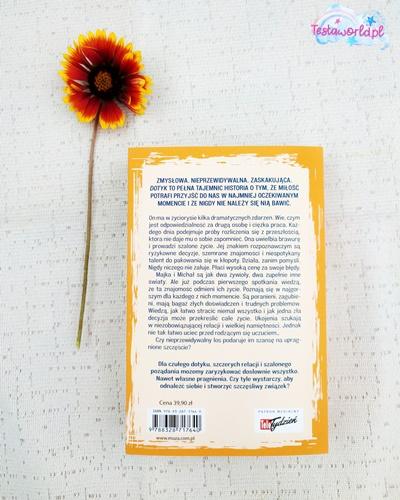 Opis z tyłu książki Ilona Gołębiewska