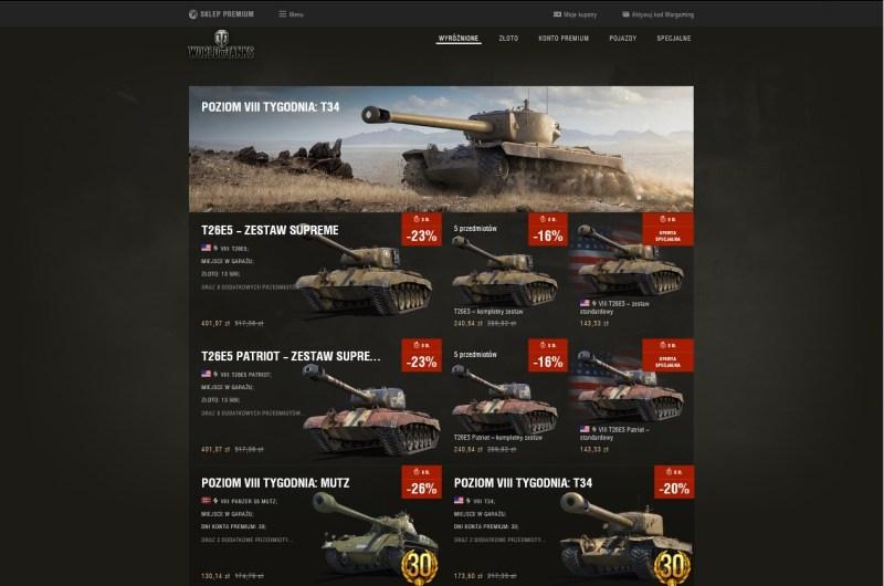 Od czego zacząć grę wWorld of Tanks