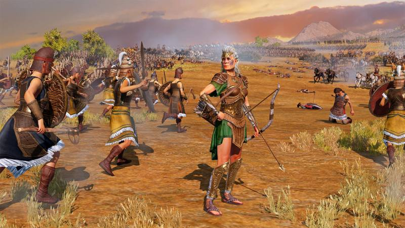 Total War Saga: TROY – Amazons