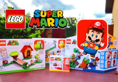 co potrafi lego super mario