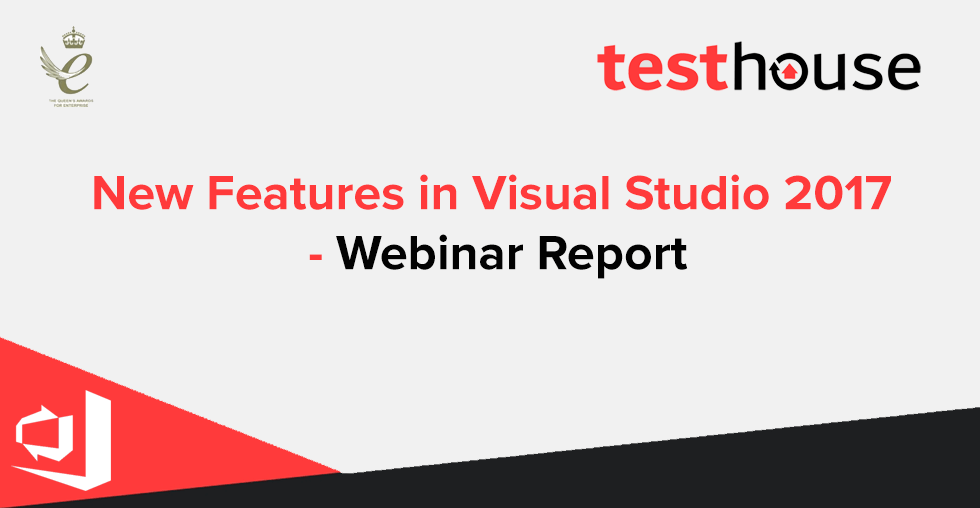 New Features in Visual Studio 2017 – Webinar Report