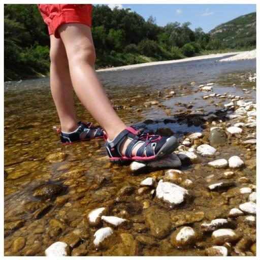 sandales aquatiques keen